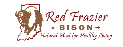 Red Frazier Bison Logo