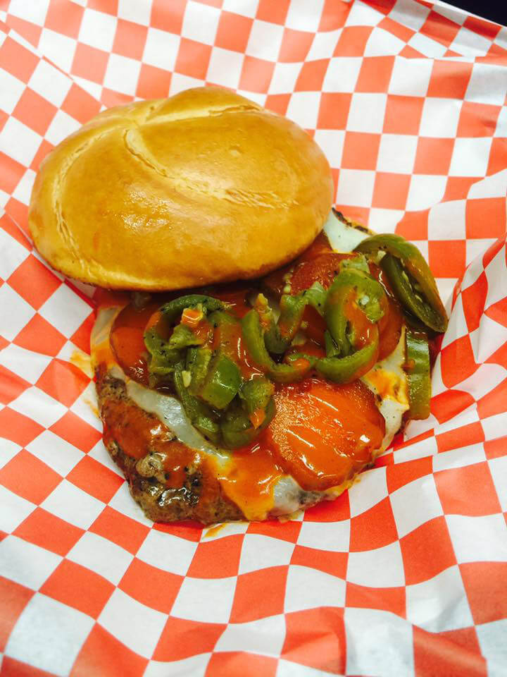 Mobile Food Trailer 6 - Verlin's Inferno Specialty Burger